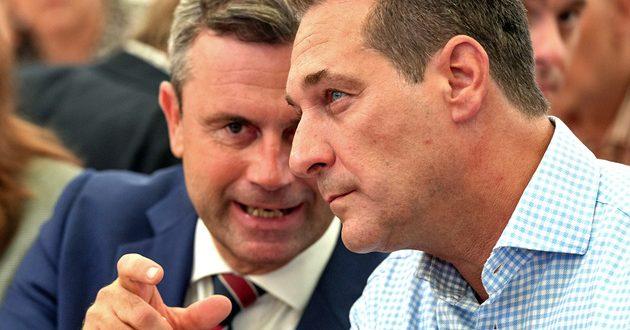 قيادات حزب الحرية اليمينى FPÖ بالنمسا تشارك فى حفل تنصيب ترامب