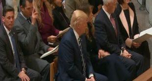 Trump-im-Kirche