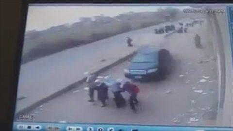 Auto-Kinder-Tot