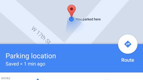 Google-Parkplatz