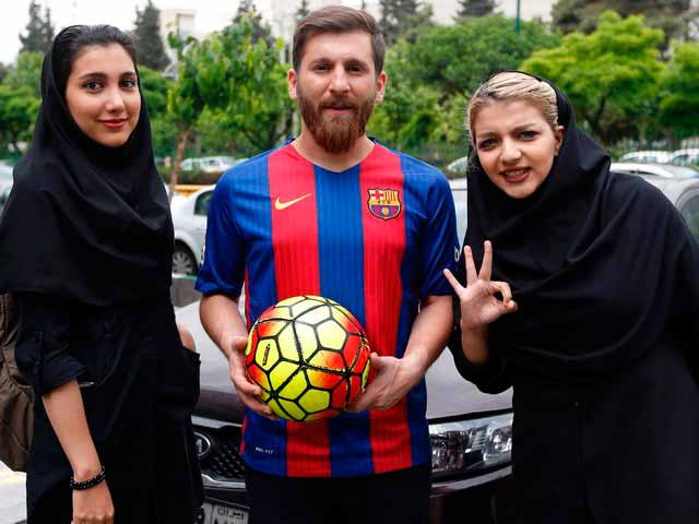 Messi-Tehran