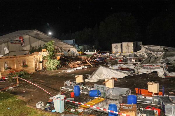 AUT, Unwetterkatastrophe, Frauscherecker Zeltfest