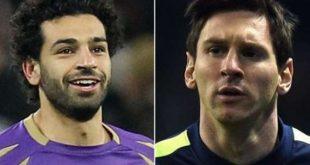 Messi-salah