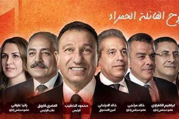 Mahmoud-alkateb-Ahley-Presdient