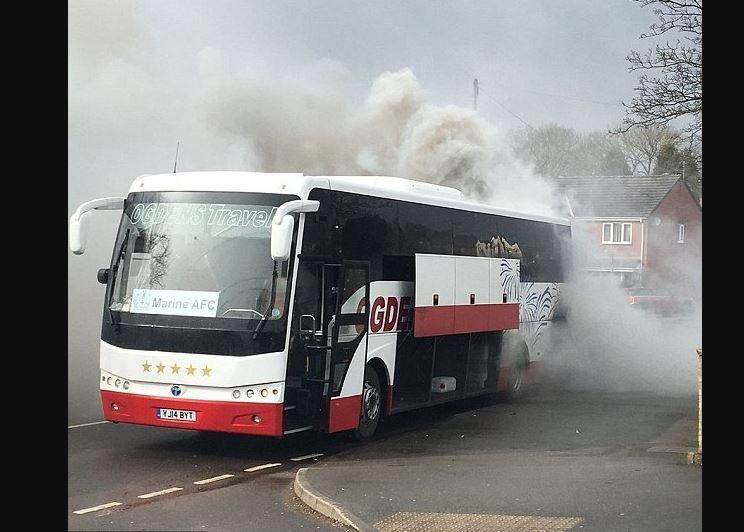 Marin-team-bus fire-home-Headensford