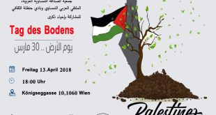 Tag-des-Boden-Palstina