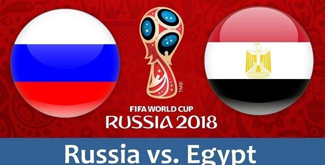 بث مباشر.. مباراة مصر وروسيا