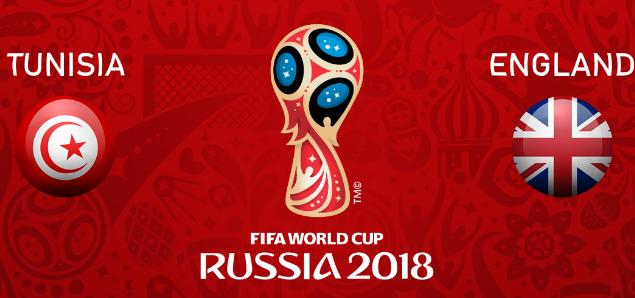 بث مباشر.. مباراة إنجلترا وتونس في بطولة كأس العالم 2018 من روسيا