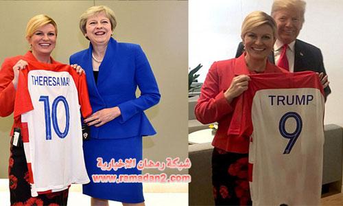 Trump-May-Kroatien