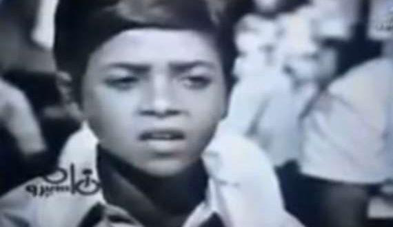 مطرب شهير يتلو القرآن بصوت ملائكي أثناء طفولته