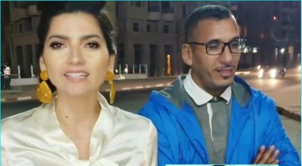 بالفيديو – سائق مغربى لم يكن يعرف أن زبونته نجمة هوليود بلانكا بلانكو صورت معه فيديو فأشتهر على مستوى العالم