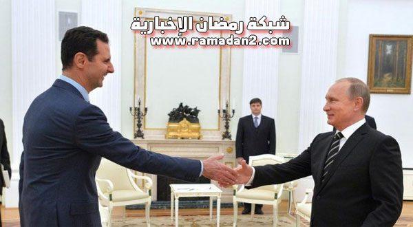 بشار الأسد يستقبل مسؤولين روس لبحث استئجار ميناء طرطوس لمدة 49 عاماً