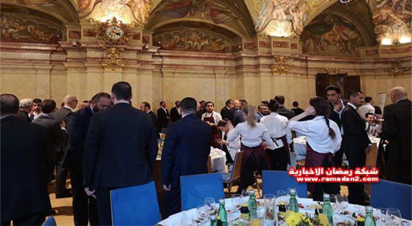 """بالصور – """"نمساوى وبس"""" شعار إفطار المحبة للهيئة الإسلامية الرسمية في النمسا"""