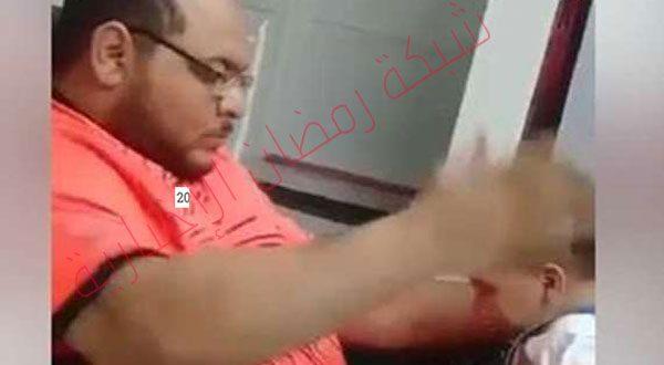 بالفيديو.. معنِّف رضيعته السعودى يكشف مفاجأة في أول تعليق له على المقطع المثير