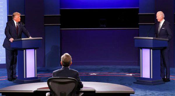 في أول مناظرة رئاسية إتجاه معاكس وإهانات شخصية وصراخ بين ترامب وبايدن